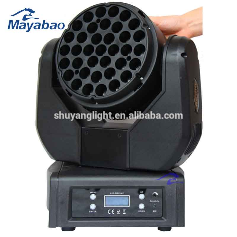 2016 Hot 150W <strong>LED</strong> Beam Moving Head Light/36pcs x <strong>3W</strong> beam <strong>led</strong> dj light