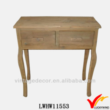 Very stylish shabby n chic antique wood office desk furniture