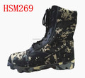 jungle fileds G.I. type waterproof canvas upper digital black camouflage army boots