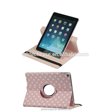 New Arrival 360 Rotation Luxury Leather Case For Ipad Proleather Case