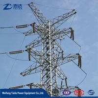 Business Opportunity 2017 Price for Galvanized Steel Electricity Power Tower with Cross Arm