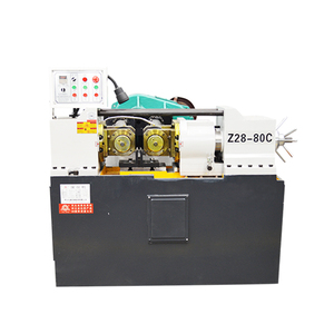 Hydraulic manual rebar thread rolling machine with Manufacturer