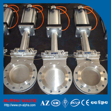 Pneumatic Flanged Wafer Knife Gate Valve
