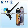 Manufacturering PU Aerosol Construction Spray Adhevie Foam OEM Polyurethane Foam
