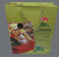 2015 fashion paper bags for shoe box/ shopping tinted paper bag/ print logo tinted paper bag