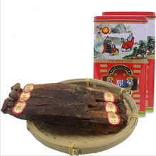 China Manufacturer supply for gift Six Years Old metal box Korean red Ginseng Root