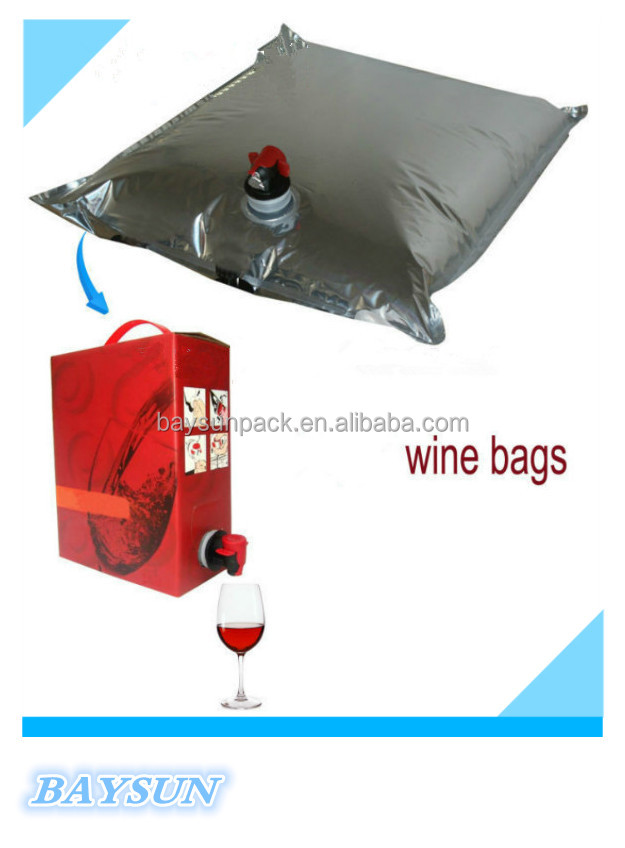 High quality wholesale Bag in Box for Wine Juice Oil Milk Water