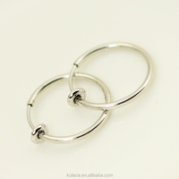15 mm Wide Spring Fake Septum Jewelry Top Hot-selling Septum Clicker