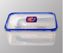 disposable food grade 400ml square shape plastic kitchen food container