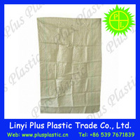 high quality low price cement Russian building garbage green woven PP sand bag