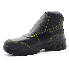 Genuine Leather Sport electric shock proof safety shoes