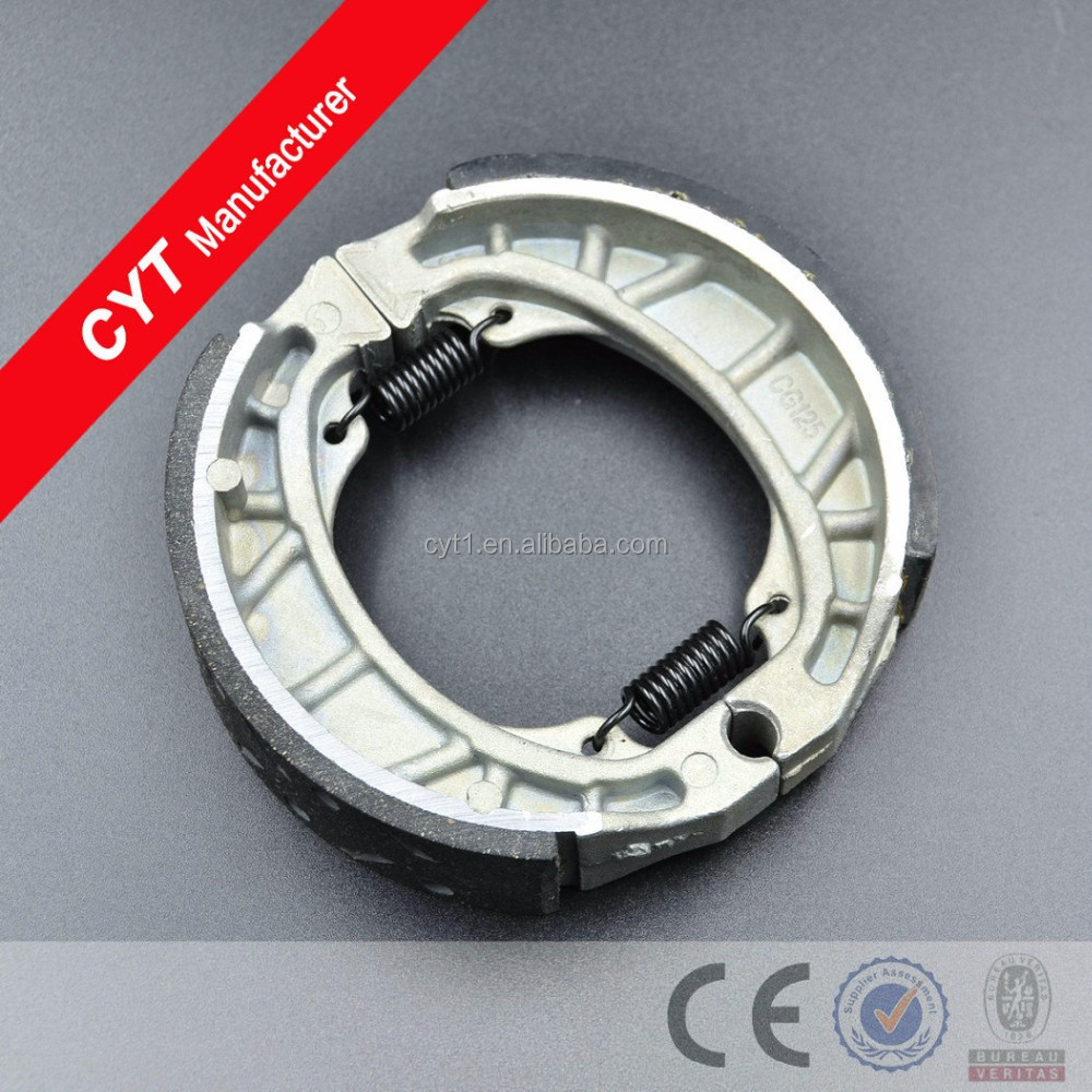 GS125 Motorcycle Parts High quality Fitting Wear resistant Brake Shoe