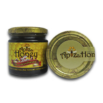 100% Natural Organic Raw Buckwheat Honey