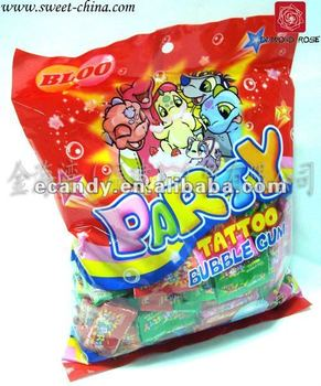Hifh quality tattoo Bubble Gum