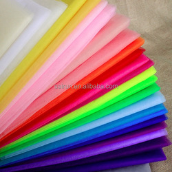 100%polyester different types of mosquito net tulle fabric fishing mesh fabric for girl skirt