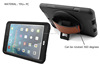 360 Degree rotating hybrid case for iPad mini 2 with the screen protector