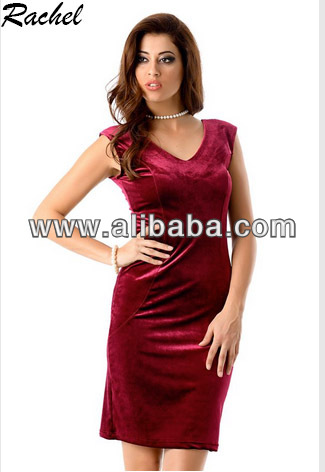 Rachel velvet evening dress / casual dress