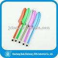 2014 High Sensitive Colorful feather ball pen for iPhone Touch Pen and Any Resistive Touch Screen