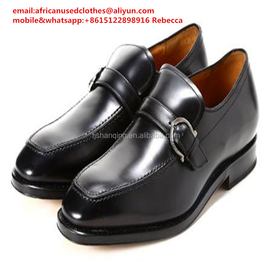 used shoes/ Second Hand shoes shinning black colour mens used shoes, no dirty, cream quality