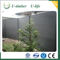 WPC Factory wood fence panels wholesale