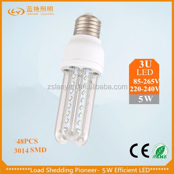 High quality CE ROHS listed Manufacturer best price High lumen Epistar SMD 5w e27 led light bulbs wholesale