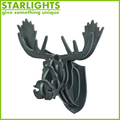 new product artificial wall mounted animal head