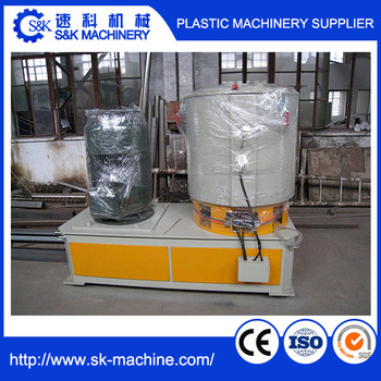 Plastic high speed material blender