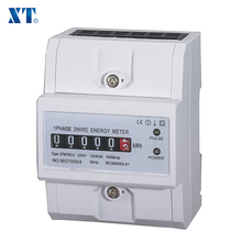 ENERGY METER EXPERT / Single phase analog din rail home kwh electric energy power meter with pulse counter