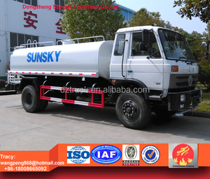 Export!!Best Price for Dongfeng 12000liters water tanker truck, RHD water truck for sale