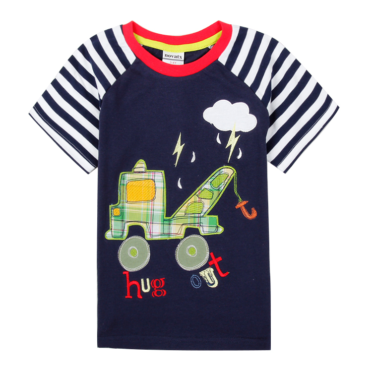 2015 new coming children t shirts boys clothing active cartoon printed kids clothes boys t-shirts summer style for boys C6385