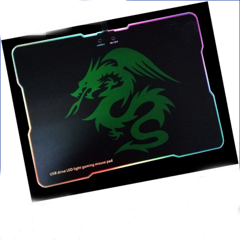 Fashion Style Full Printing Extra Large 600*300*30mm usb Gaming Mouse Pads with Led