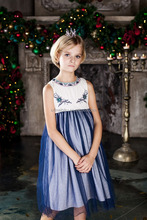 new style dress for little girl party dress children frocks design