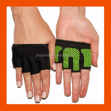 Enhanced Silicone Grip Palm Workout Gloves For Weightlifting & Cross Training Athletes