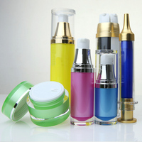 330ml 5 oz glass bottle aluminum cosmetic containers