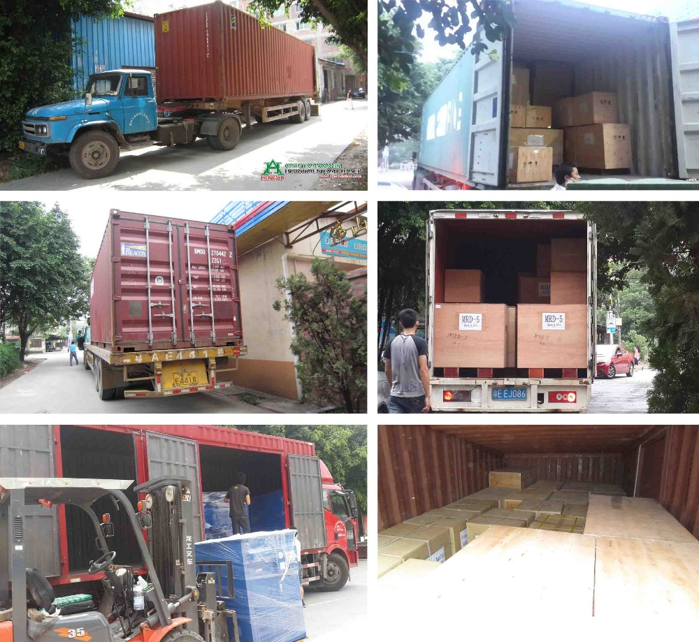 Container Bulk Delivery of Heng An Steam Car Washer
