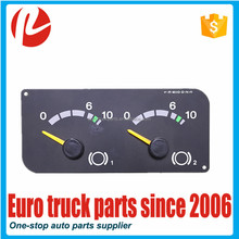 European truck auto spare parts oem 1434136 instrument cluster for SC combination digital meter