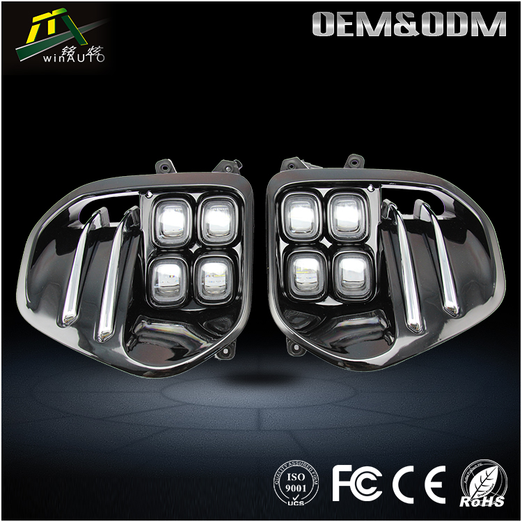 New arrival auto parts drl high bright waterproof led daytime running light for Kia KX5 and Sportage 2015 - 2016