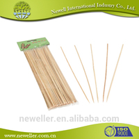 2014 Hot Selling bamboo stick for skewered foods best quality round strong bamboo sticks