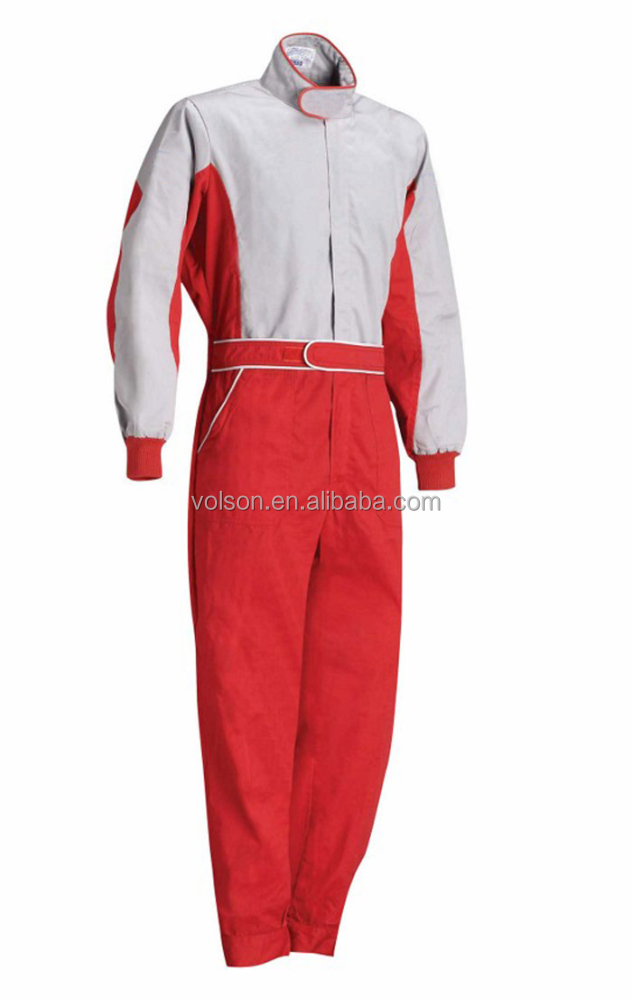 2017 Red Professional Overall Racing Suits FIREPROOF FIA approved