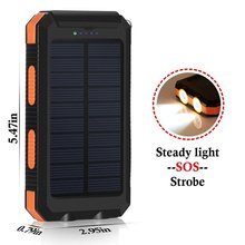 New solar power bank Solar charger cell phone 10000mah