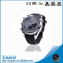 New Spy Multi Functional HD IR 1080p mini camcorders Waterproof Watch Digital Video Camera night vision camera watch for men