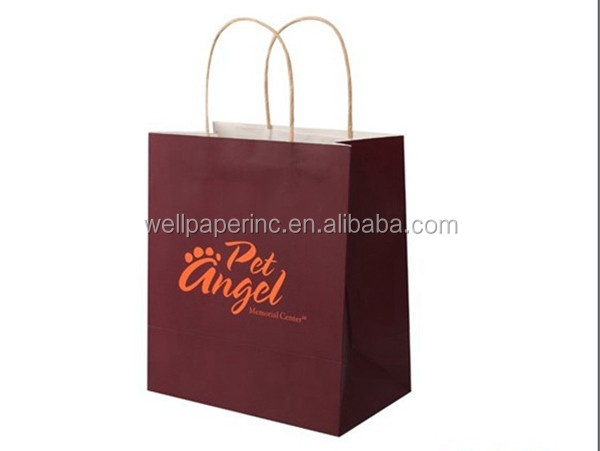 Gift Paper Bags, Solid Colors, Medium, Bulk set of 24 bags