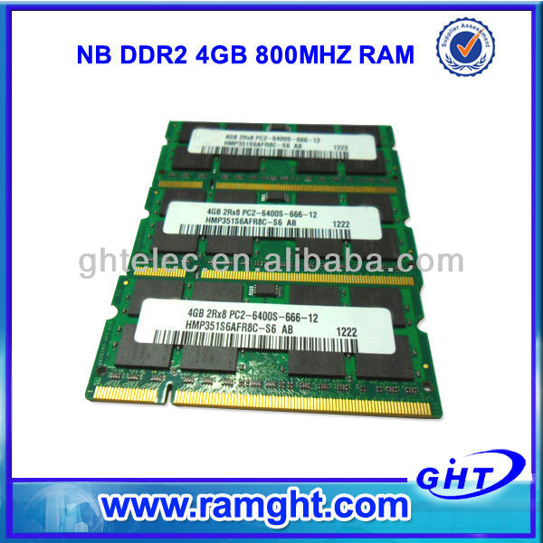 Work with G41 G31 motherboard ram memory 2x4GB ddr2 sodimm 8gb