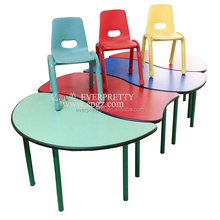 Kindergarten Furniture Kid Study Table Design Children Learning Desk