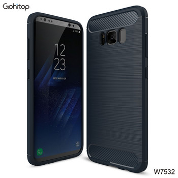 New Design Brush TPU Shockproof Case for Samsung S8