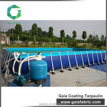 High quality and Durable PVC tarpaulin inflatable swimming pool for family use