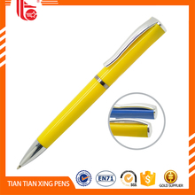 OEM 2015 custom clip pen, cute plastic pen with custom clip, cartoon pen clip