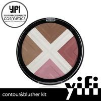 Accept customized 4 color contour palette