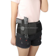 2017 hot sale elastic neoprene gun belt holster gun wasit belt