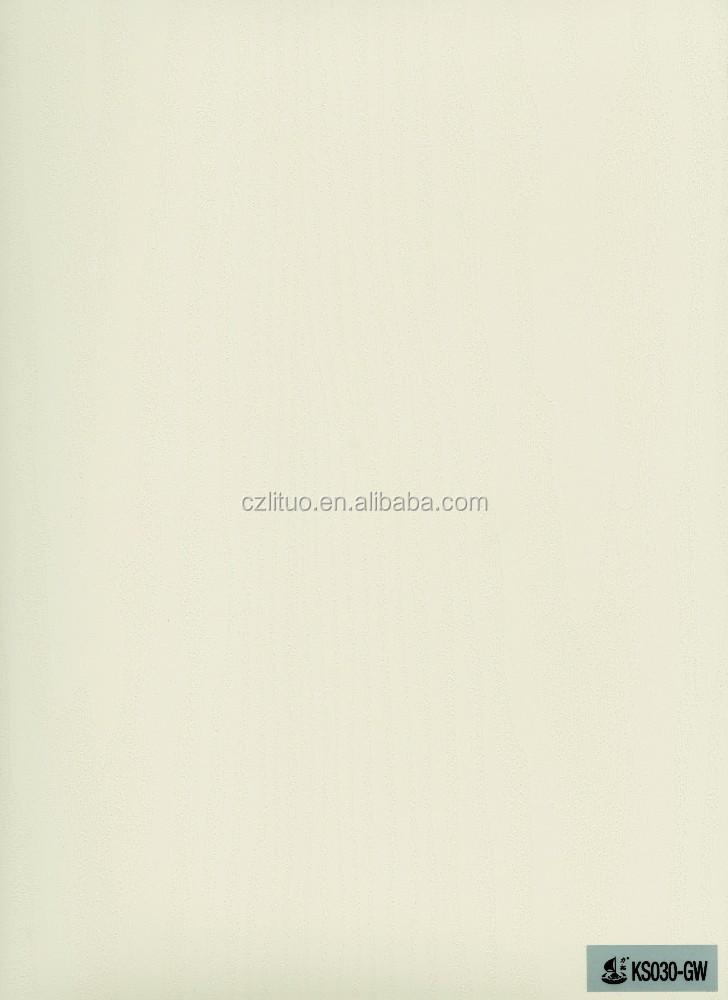 Rigido decorativa di colore solido mobili in pvc rivestimento di ...